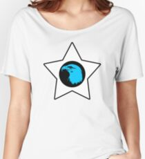 Bald Eagle (Blue) T-Shirt Women's Relaxed Fit T-Shirt