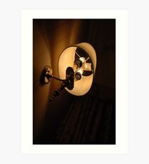 room lamp Art Print