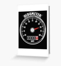 Oldometer 70 Grußkarte
