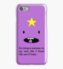 """LSP - """"So awesome on my own"""" iPhone Case/Skin"""