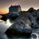 First Light at the Boat House by Sue  Cullumber