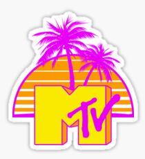 MTV - Sunset 80s Sticker
