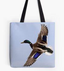 Flight Of Mallard Tote Bag