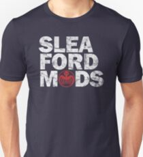Sleaford Mods (white/red text) Unisex T-Shirt