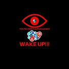 WAKE UP YOU'RE UNDER SURVEILLANCE THE STORM IS COMING Q by VIDDAtees