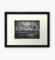 Solar Voyage Framed Print