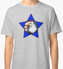 Bald Eagle & Blue Star Classic T-Shirt