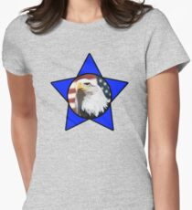 Bald Eagle & Blue Star T-Shirt