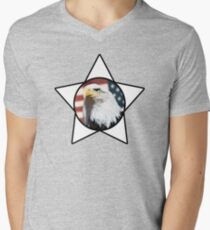 Bald Eagle & White Star T-Shirt T-Shirt
