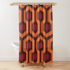 Overlook Hotel Carpet (The Shining)  Shower Curtain