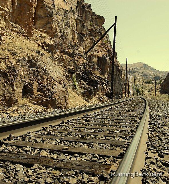 trackin train tracks by Amanda Huggins
