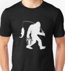 345c0d89f Bigfoot Sasquatch Fishing Apparel Unisex T-Shirt