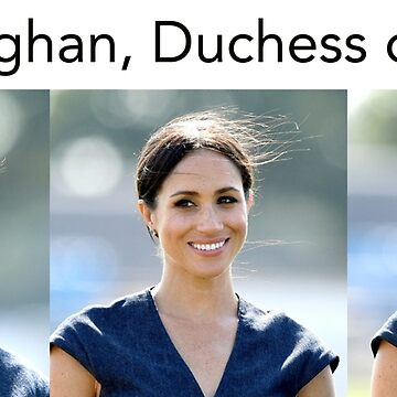 Stunning! HRH Meghan, Duchess of Sussex Professional Design by Picturestation