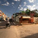 Small market, on the corner of a street, in Trinidad, Cuba. by jonathankemp
