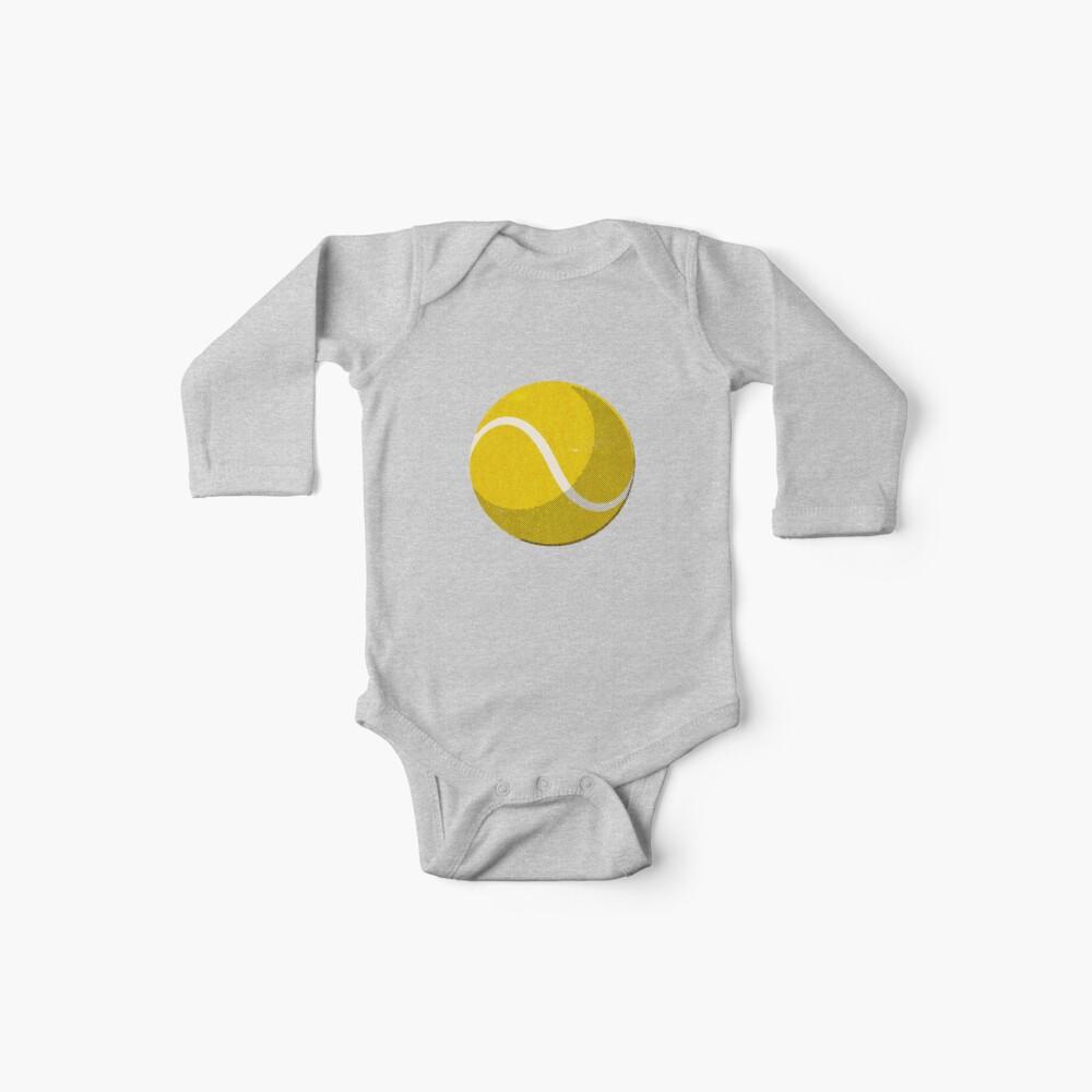 BALLS / Tennis (Grass Court) Baby One-Piece