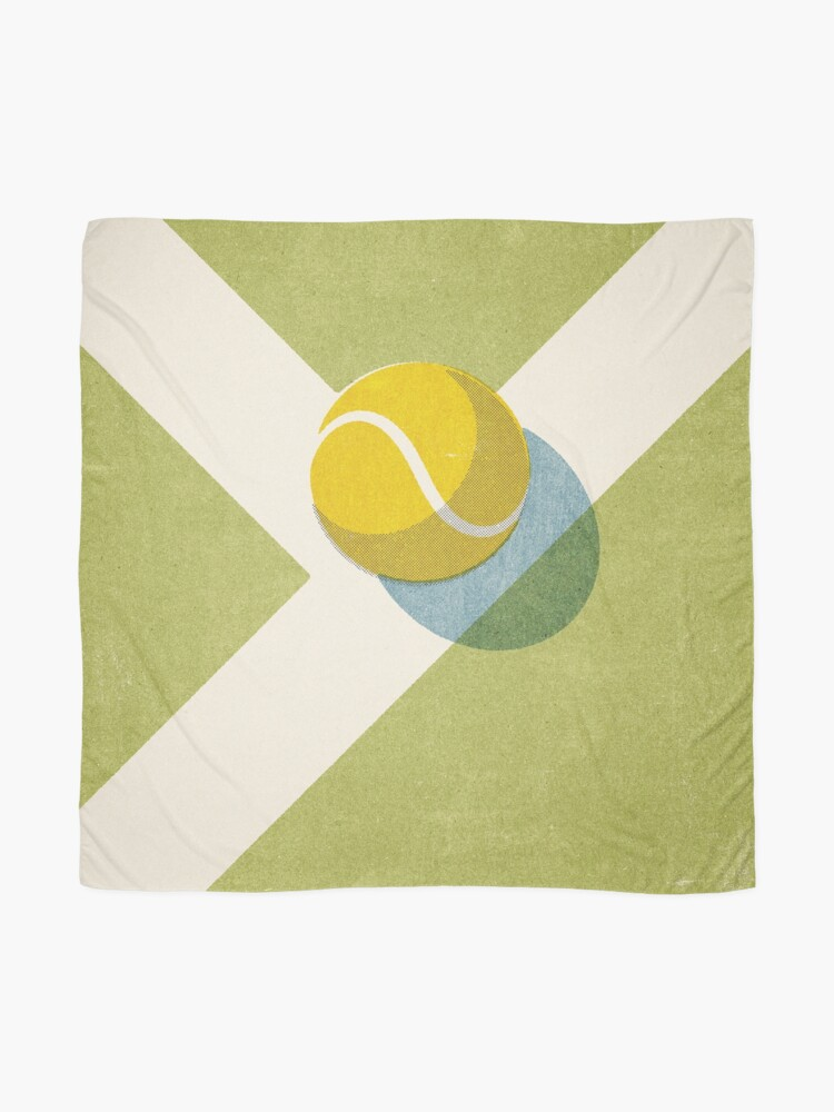 Alternate view of BALLS / Tennis (Grass Court) Scarf