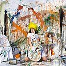 Paint Portrait by Andrew Mark