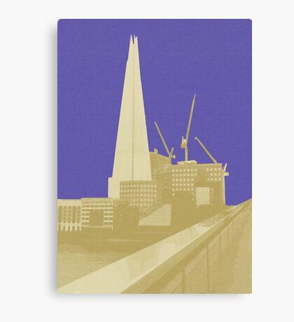London Fruit Pop Series - Blueberry Shard Canvas Print