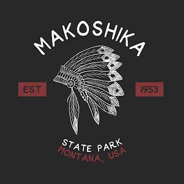 Makoshika State Park Montana Souvenirs MT by fuller-factory