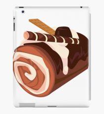 Chocolate Dessert Roll iPad Case/Skin