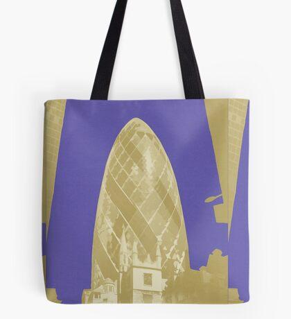 London Fruit Pop Series - Blueberry Pickle Tote Bag
