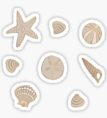 Beach Treasures Sticker