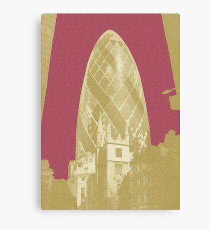 London Fruit Pop Series - Raspberry Pickle Canvas Print