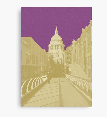 London Fruit Pop Series - Plum Saint Canvas Print