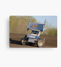 Sprintcar Slideways Canvas Print