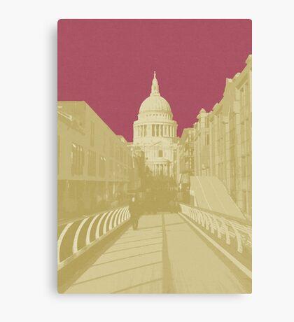 London Fruit Pop Series - Raspberry Saint Canvas Print