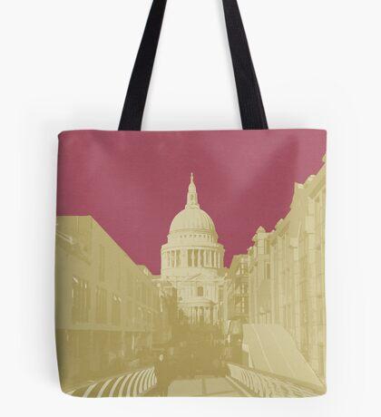 London Fruit Pop Series - Raspberry Saint Tote Bag