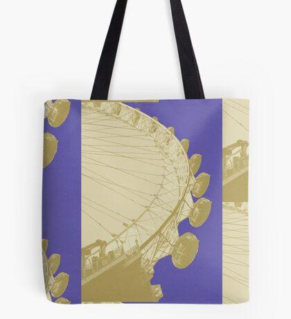 London Fruit Pop Series - Blueberry Eye Tote Bag
