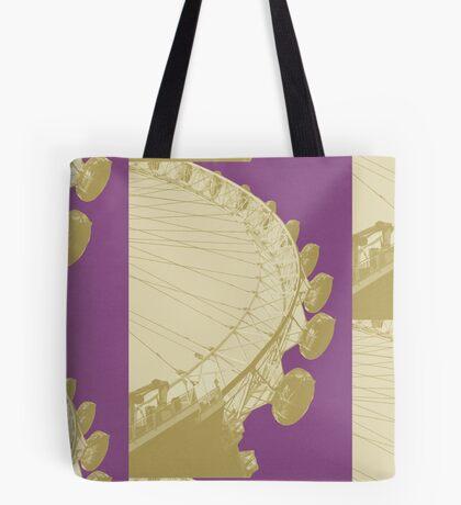 London Fruit Pop Series - Plum Eye Tote Bag