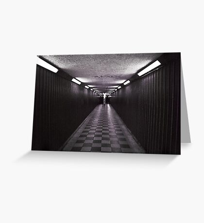 Blackfriars underpass (4) Greeting Card