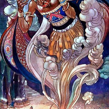 Aladdin and His Lamp - Arabian Nights, Rene Bull by forgottenbeauty