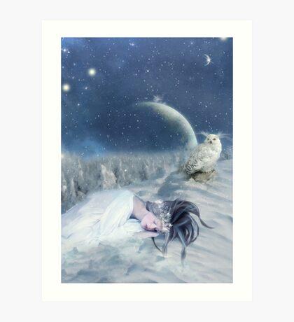 ice queen [my december] Art Print