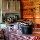 Very Old Kitchen by TJ Baccari Photography