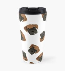Boxer Puppy Love Travel Mug