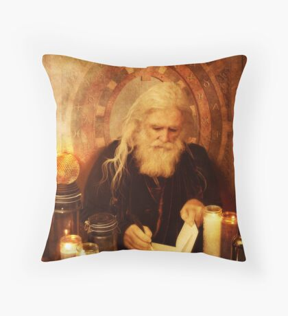 the word lord Throw Pillow