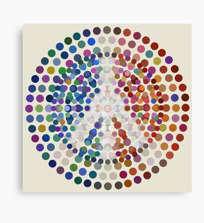 Tricolore de la Paix IV Canvas Print