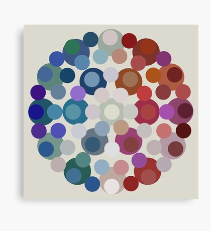 Tricolore de la Paix V Canvas Print