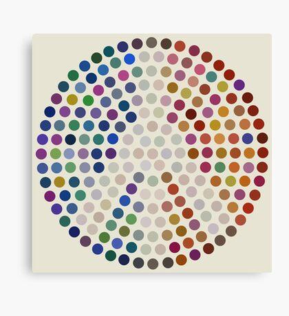 Tricolore de la Paix I Canvas Print