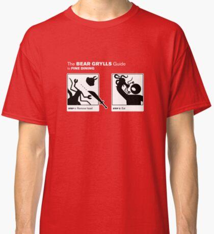 Man vs Lunch Classic T-Shirt