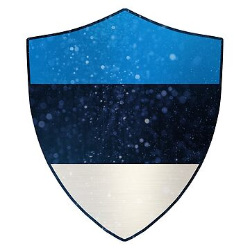 Estonia Flag Shield by ockshirts