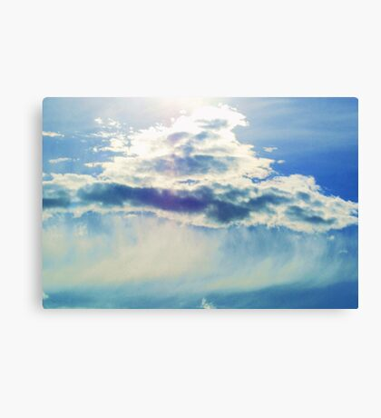 Glowing Cloud Canvas Print