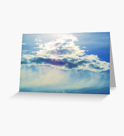Glowing Cloud Greeting Card