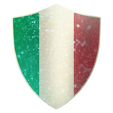 Italy Flag Shield by ockshirts