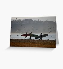 In The Fog Greeting Card