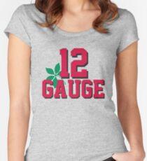 12 Gauge Women's Fitted Scoop T-Shirt