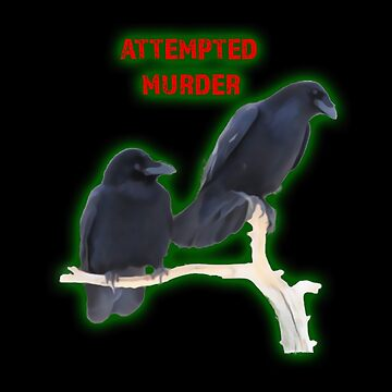 Attempted Murder Corvid Flock by Vroomie